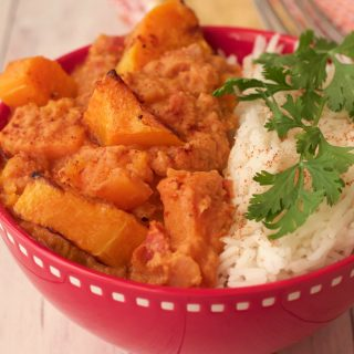 Butternut Squash Curry Bowls