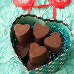 Vegan chocolate caramels