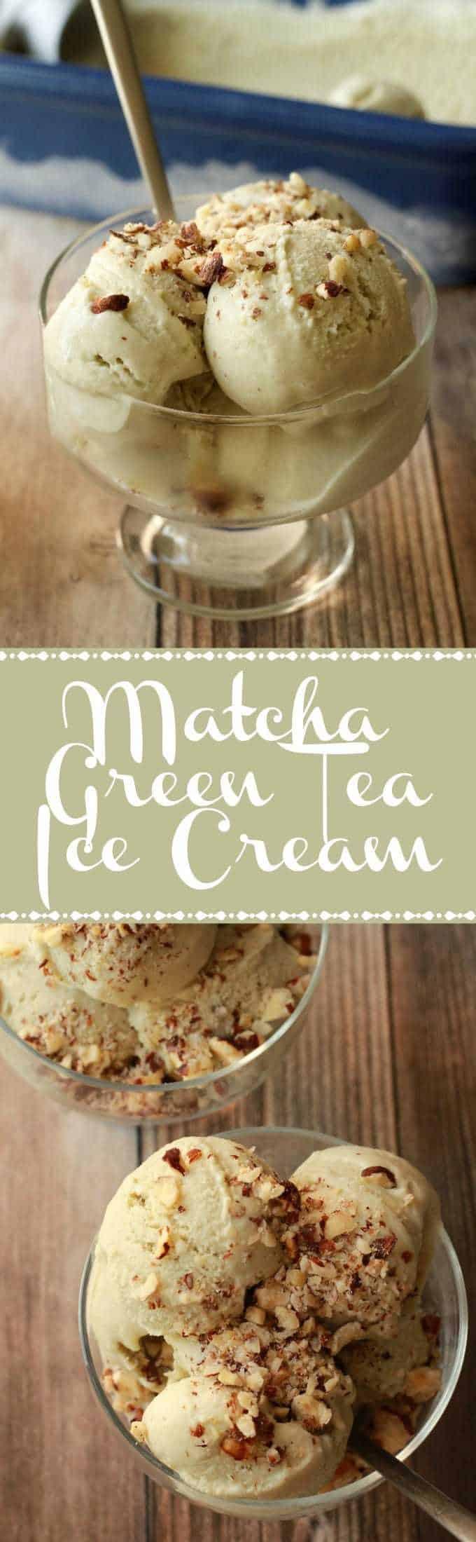 Ultra-creamy and smooth matcha green tea ice cream. Vegan and gluten-free this is really like the best textured vegan ice cream you've ever had! | lovingitvegan.com