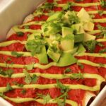 Butternut Squash and Black Bean Vegan Enchiladas