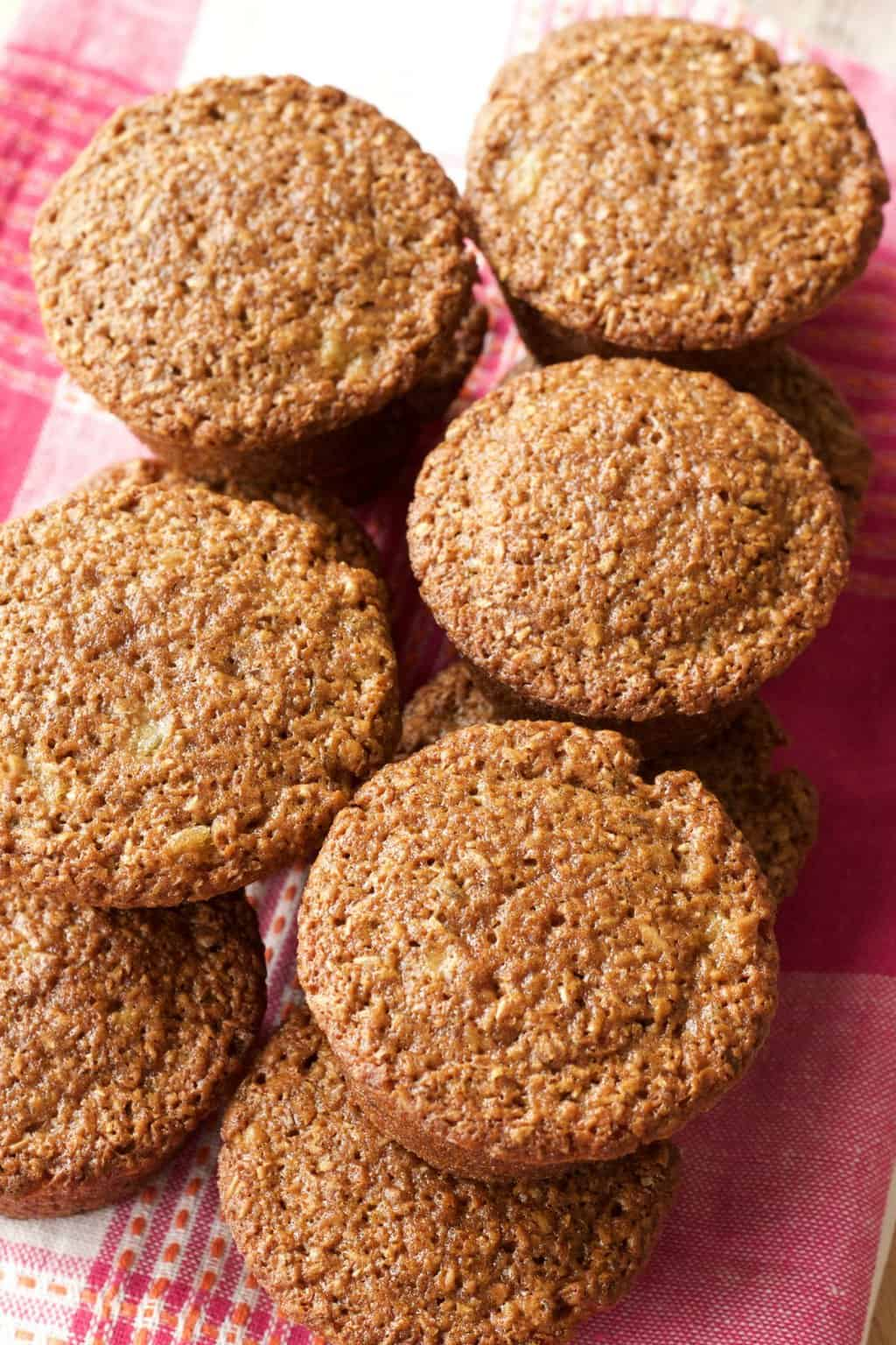 Easy Vegan Raisin Bran Muffins. Hearty and Satisfying and perfect for a quick vegan breakfast or snack. #vegan #lovingitvegan #branmuffins #breakfast