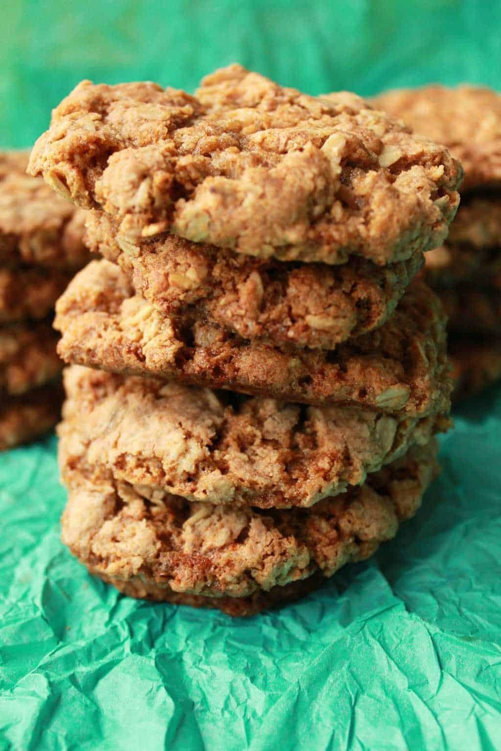 Simple Vegan Oatmeal Cookies Loving It Vegan