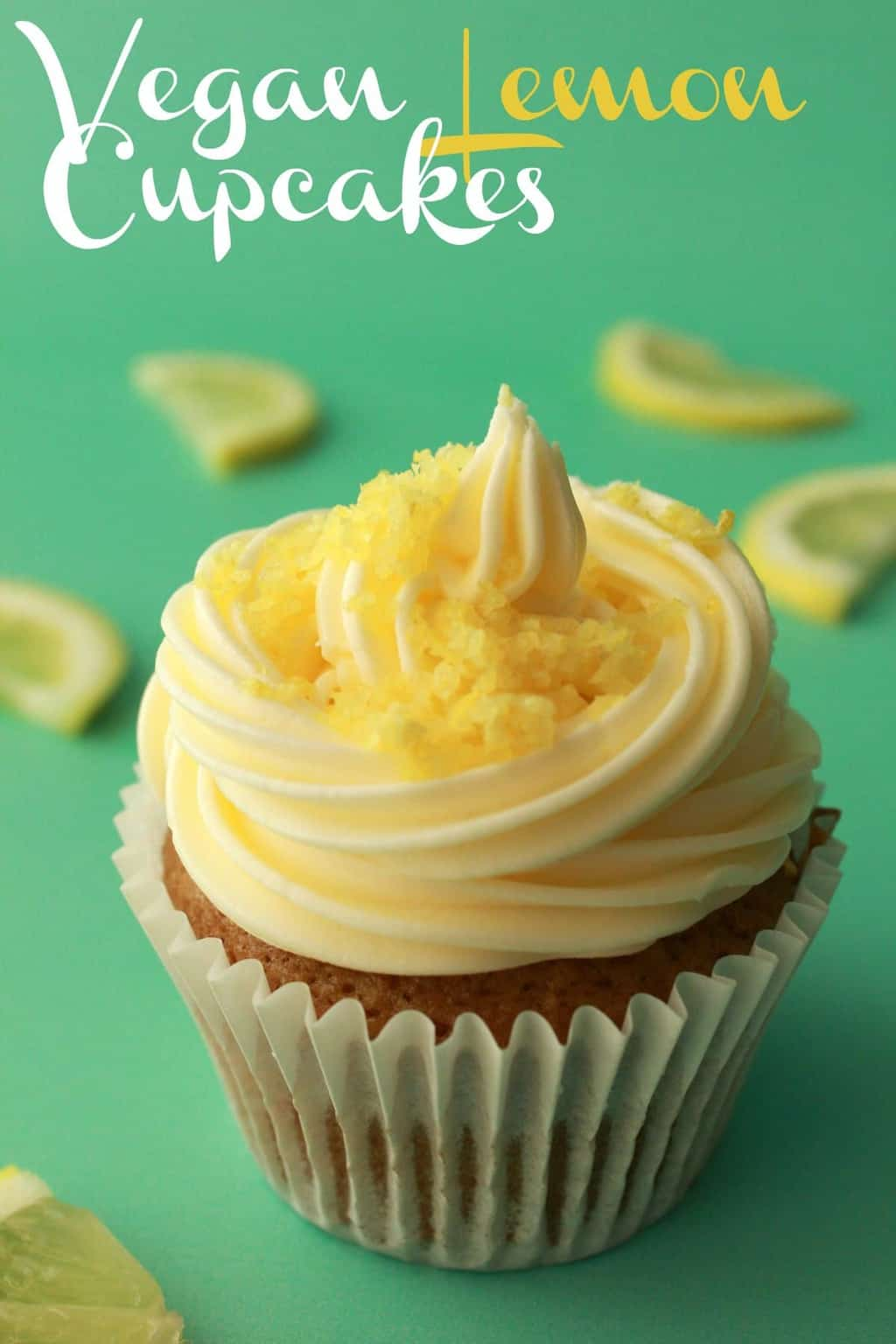 Vegan Lemon Cupcakes Moist And Perfect Loving It Vegan