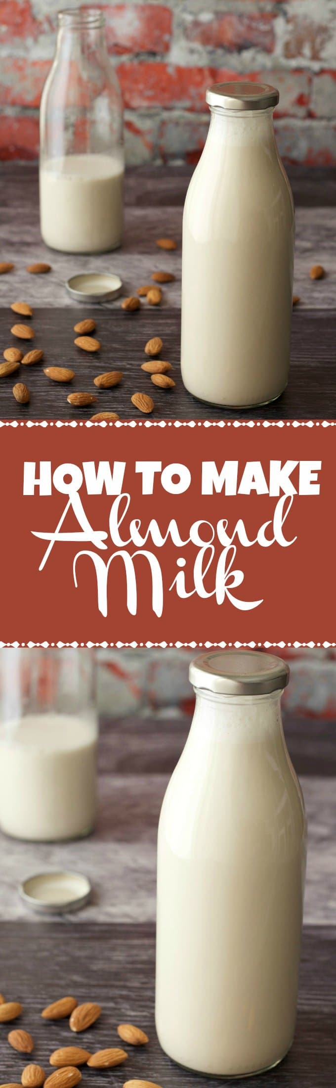 Learn how to make almond milk in this easy step by step tutorial. This ultra creamy and delicious homemade almond milk is vegan, nutritious and gluten-free. Vegan Recipes | Vegan Breakfast | Vegan Food | Gluten-Free Vegan | lovingitvegan.com