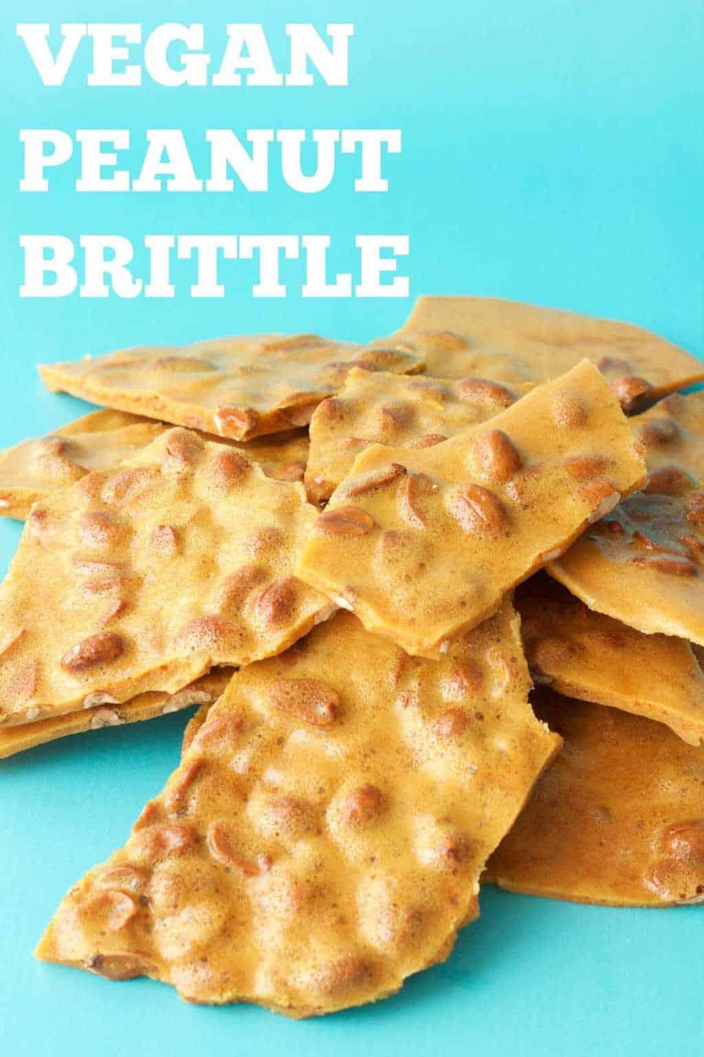 Vegan Peanut Brittle Loving It Vegan