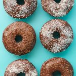 Vegan Chocolate Donuts with Chocolate Glaze