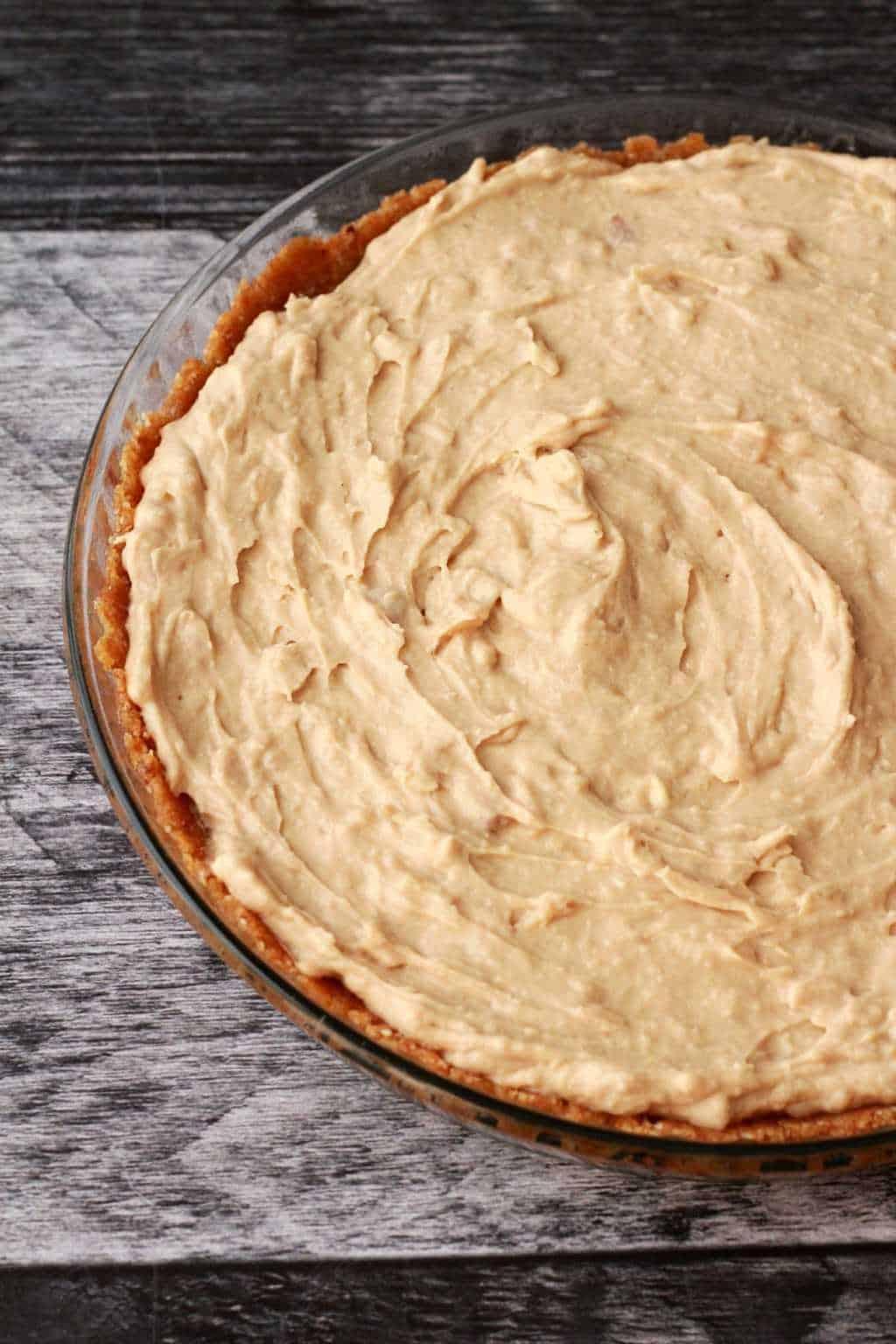 Making a Vegan Coconut Cream Pie. #vegan #lovingitvegan #dessert #pie