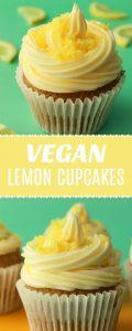 Vegan Lemon Cupcakes
