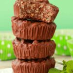 Vegan Chocolate Mint Crunch Cups