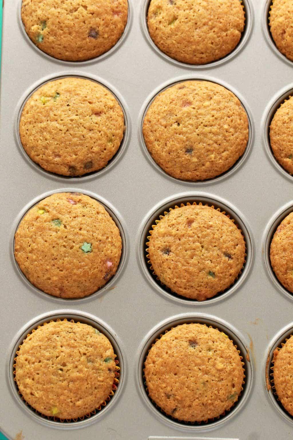 Making Vegan Funfetti Cupcakes. #vegan #lovingitvegan #cupcakes #dessert