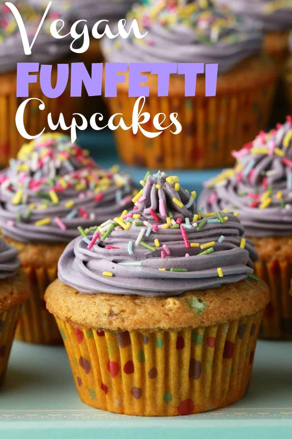 Vegan Funfetti Cupcakes Loving It Vegan