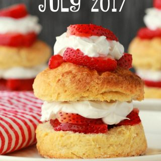 Recipe Round Up - July 2017