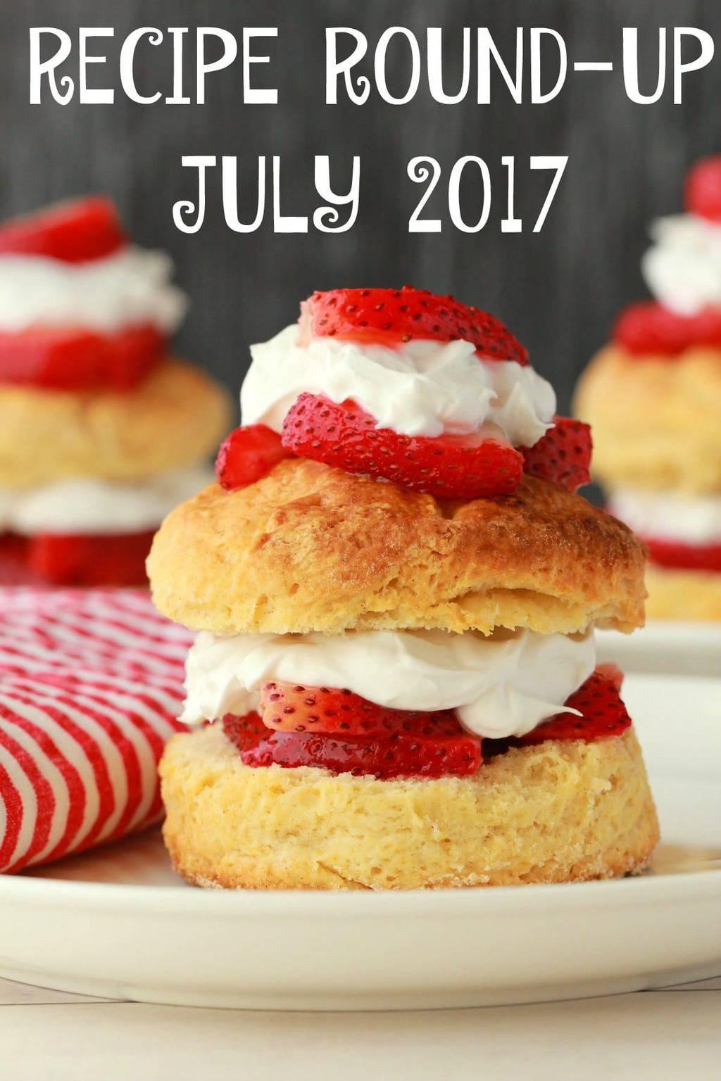 Recipe Round Up - July 2017