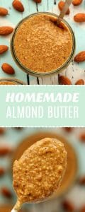 How To Make Almond Butter