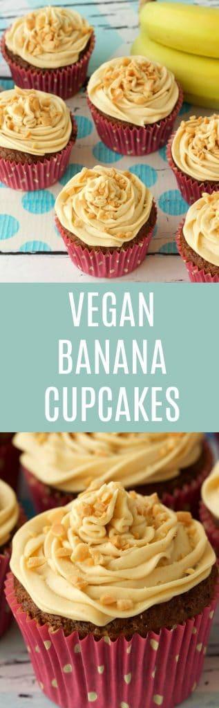 Vegan Banana Cupcakes