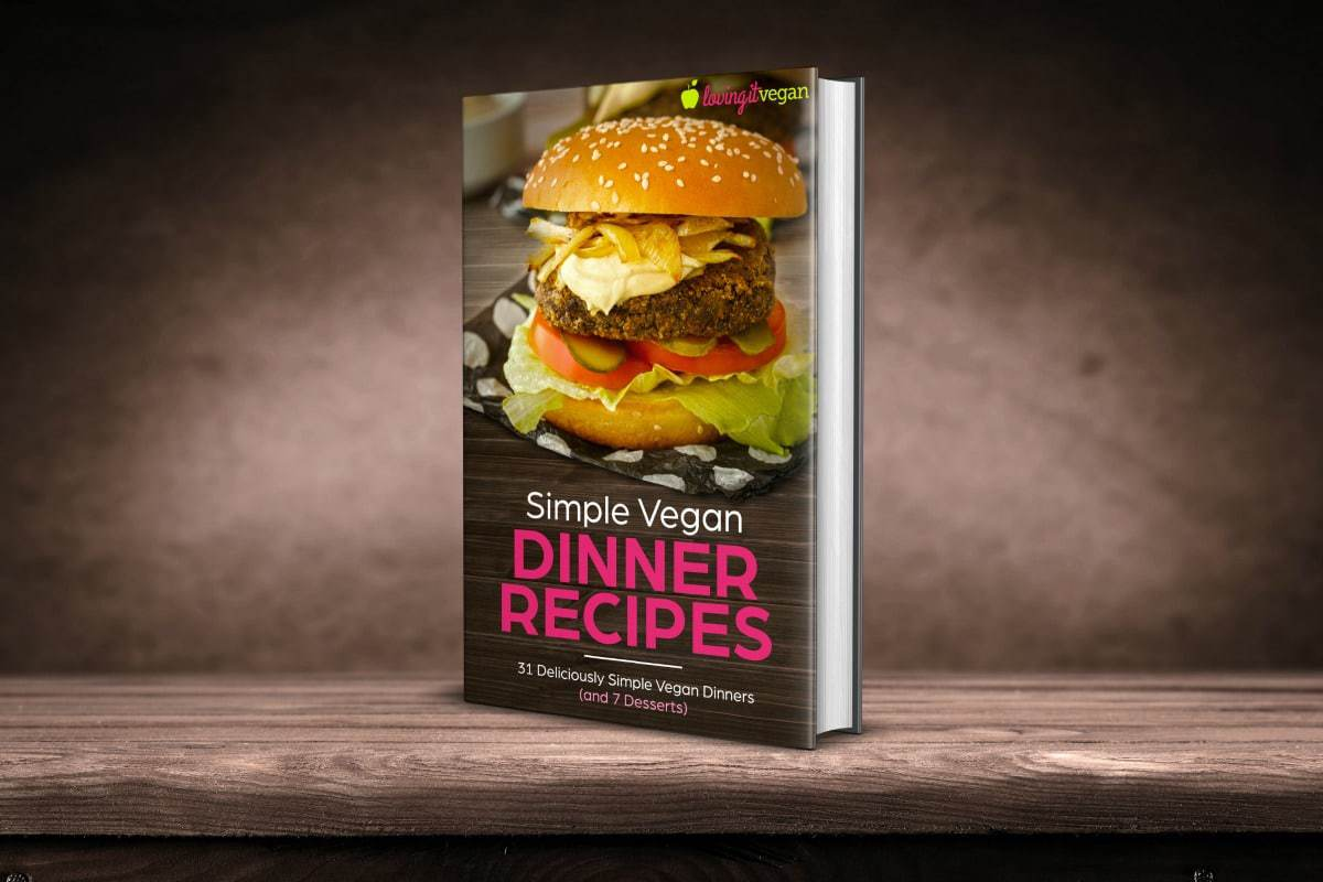Simple Vegan Dinner Recipes 3D Cover