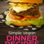 Simple Vegan Dinner Recipes Cover