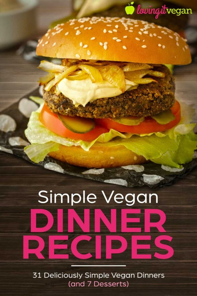 Simple Vegan Dinner Recipes Cover
