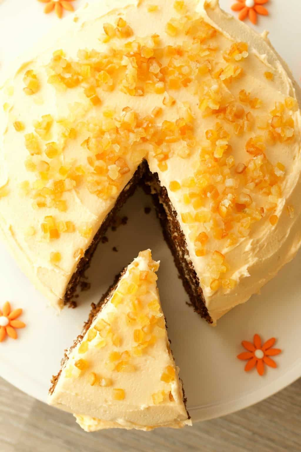 how to make orange flavored frosting