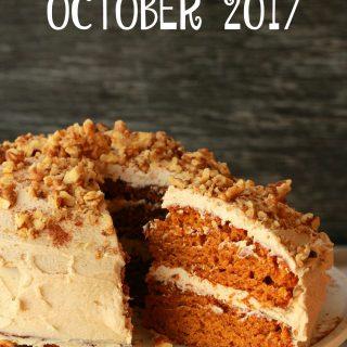 Recipe Round Up October 2017