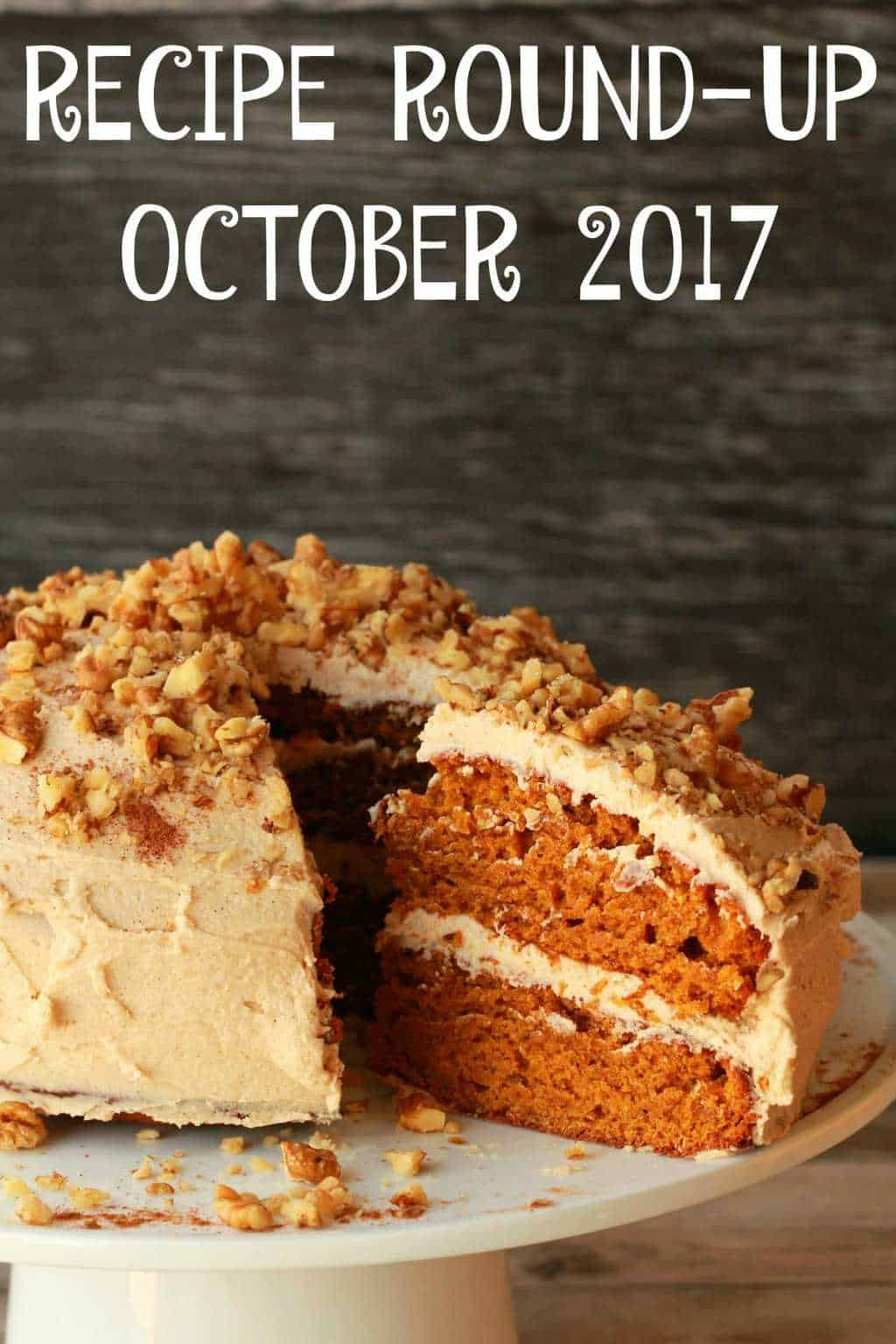 Recipe Round Up October 2017