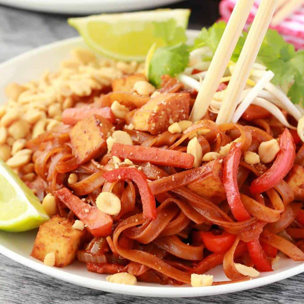 Vegan pad thai with tofu gluten free loving it vegan forumfinder Choice Image