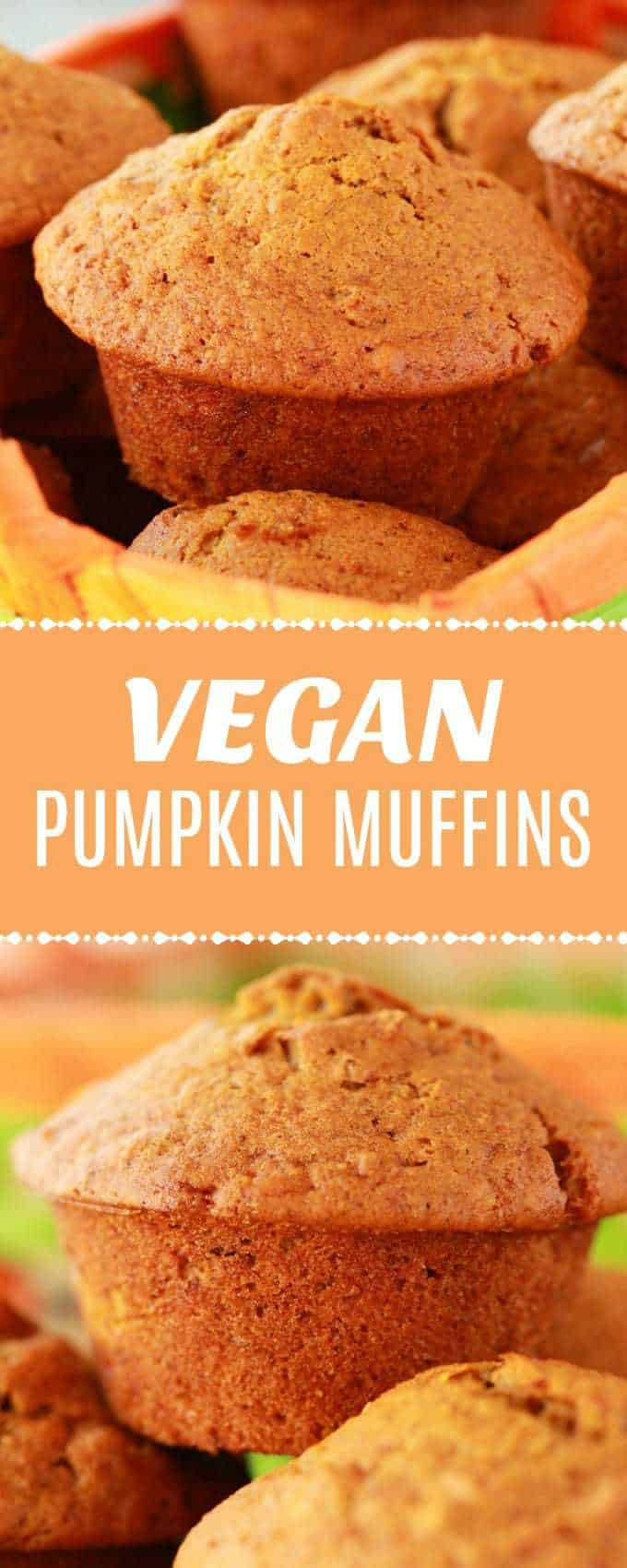 Perfectly moist vegan pumpkin muffins packed with pumpkin flavor and pecans! Deliciously fall flavored goodness, delicious served with or without vegan butter. | lovingitvegan.com