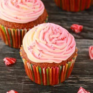 Vegan Peppermint Cupcakes