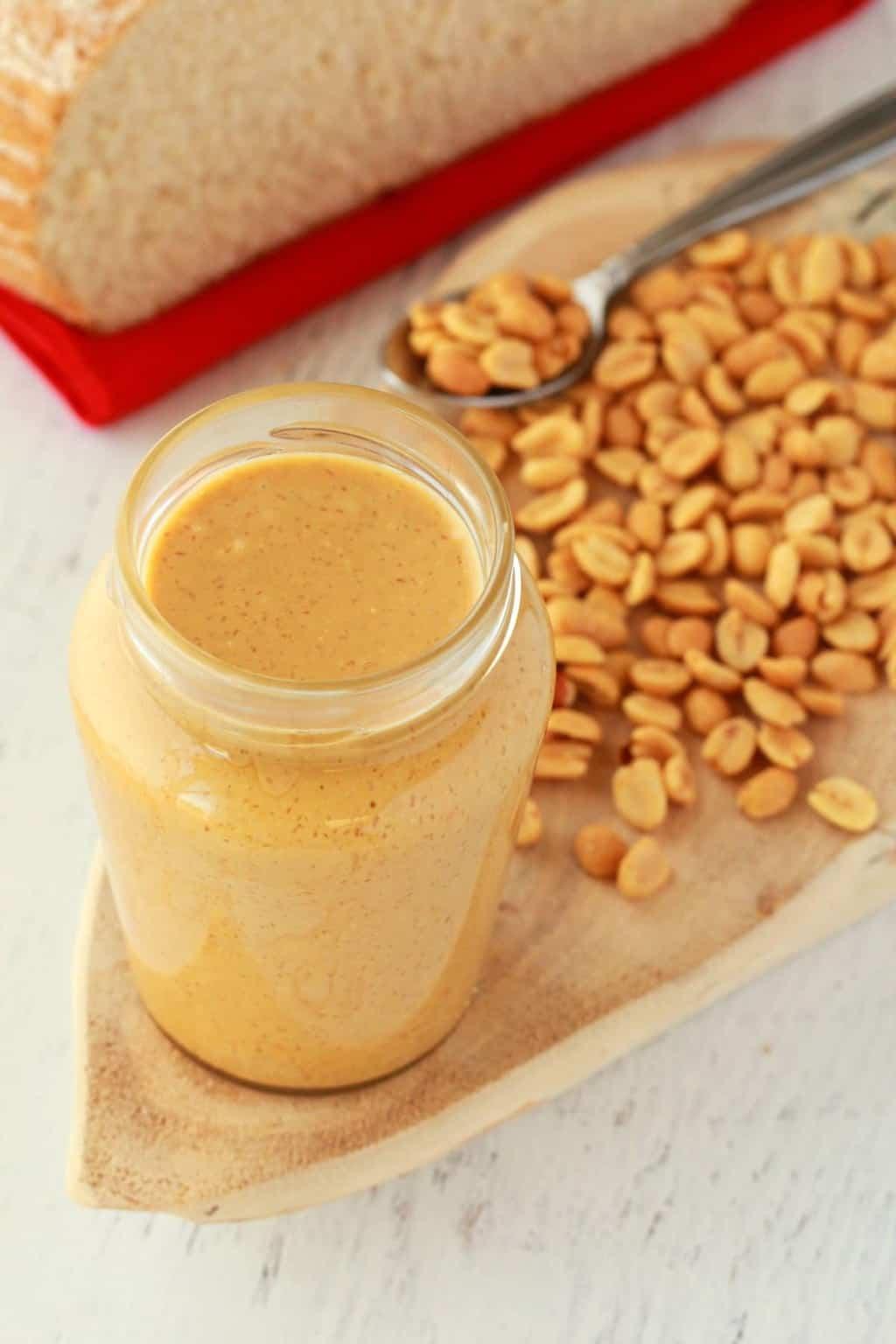 Homemade Peanut Butter - Loving It Vegan