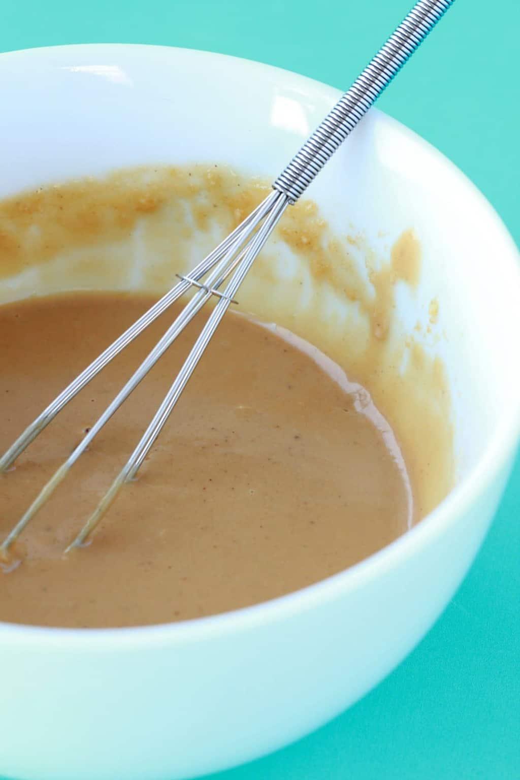 Making Tahini Sauce #vegan #lovingitvegan #tahini #sauce