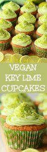 Vegan Key Lime Cupcakes