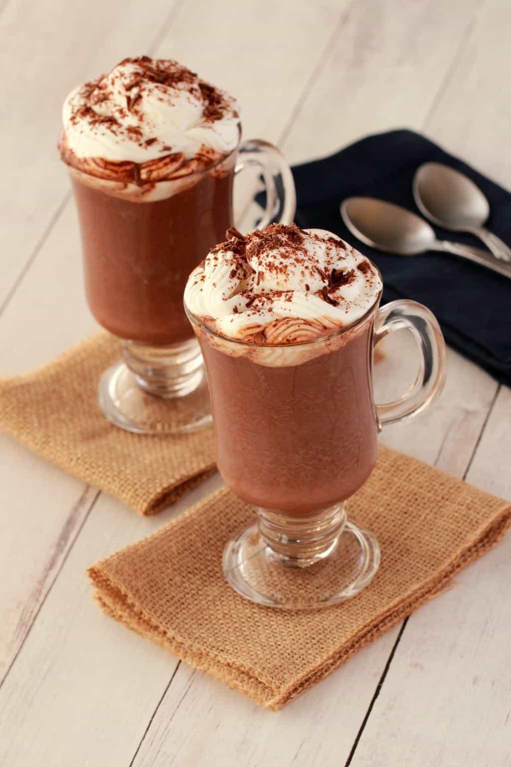 Vegan Hot Chocolate Loving It Vegan