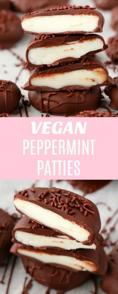 Vegan Peppermint Patties Pinterest