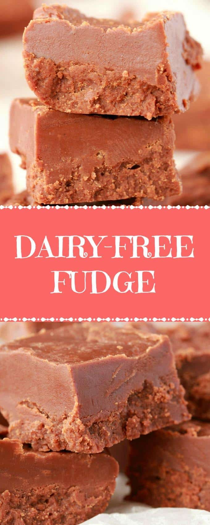 Rich and mega-chocolatey dairy-free fudge. This stovetop fudge is super quick to make, doesn't require any special equipment, is just 5-ingredients and has perfect results! Vegan and gluten-free! | lovingitvegan.com