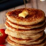 Vegan Pancakes (Light, Fluffy and Perfect!)