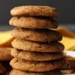 Vegan Snickerdoodles – Soft and Puffy!