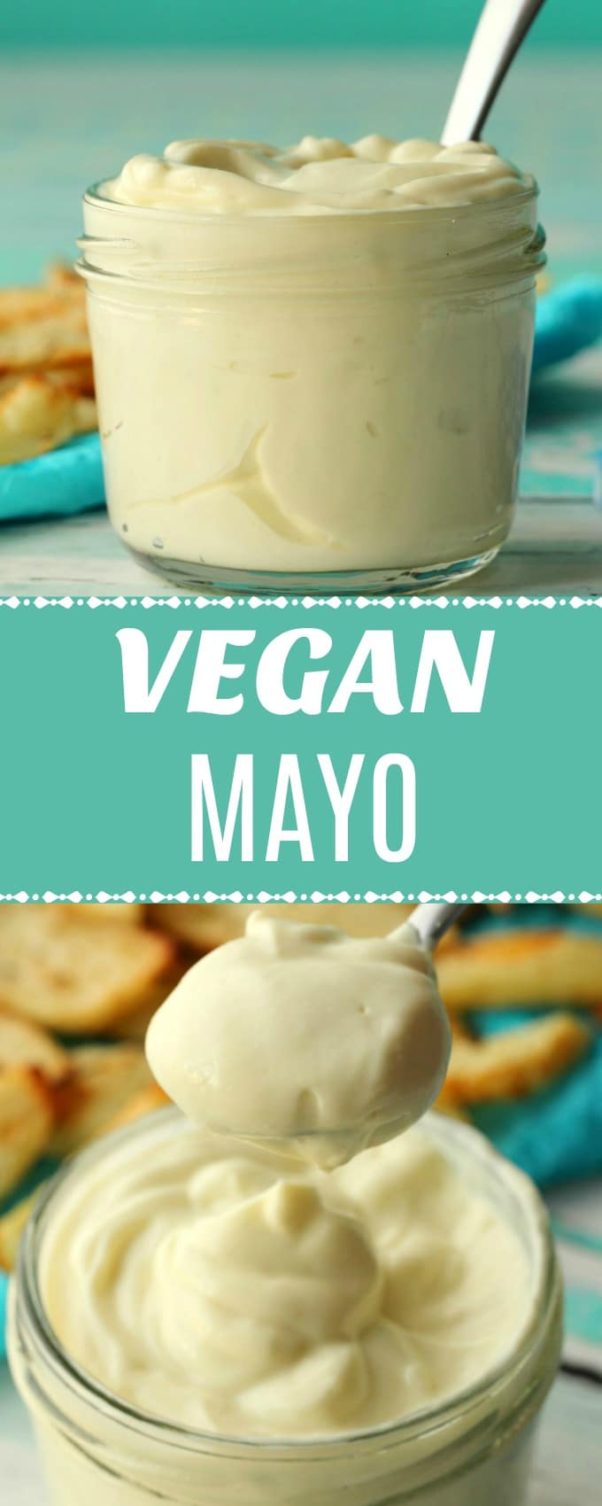 Rich and thick vegan mayo made with 6 easy ingredients and ready in 5 minutes from start to finish! Ultra creamy, with just the right amount of tangy, this is so good you won't believe you made it yourself! | lovingitvegan.com