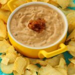 Vegan Onion Dip – Caramelized and Creamy