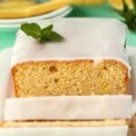 Vegan Lemon Pound Cake with Lemon Glaze
