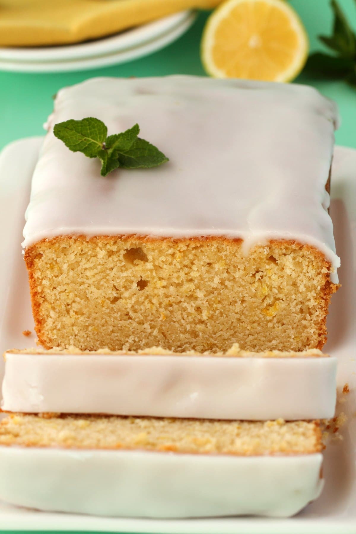 Lemon Loaf White Cake Mix