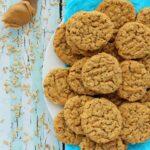 Vegan Peanut Butter Oatmeal Cookies
