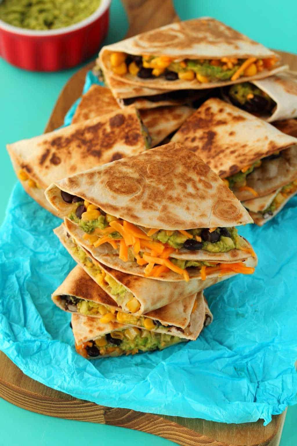 Vegan Quesadillas Easy Cheesy And Delicious Loving It Vegan