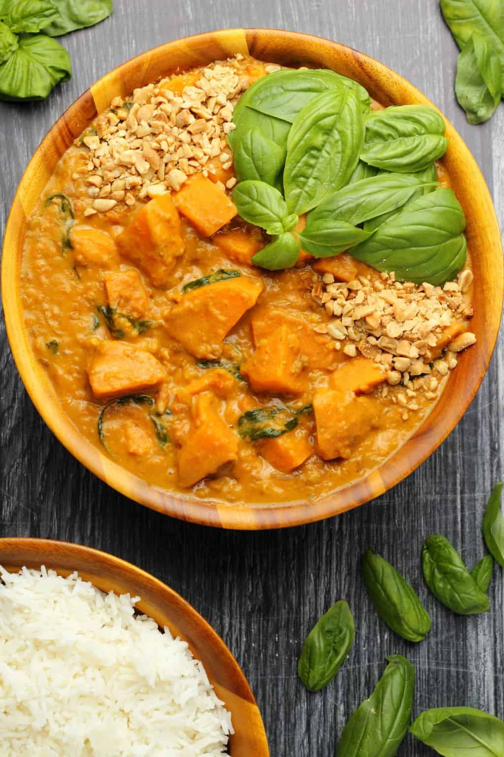 Vegan Sweet Potato Curry Loving It Vegan