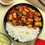 Kung Pao Tofu, Salty, Sweet and Spicy