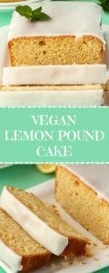 Vegan Lemon Pound Cake