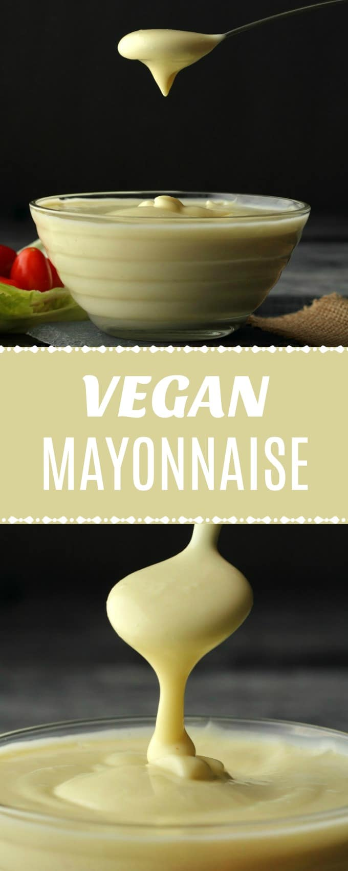 Vegan Mayonnaise Creamy And Tangy With Aquafaba