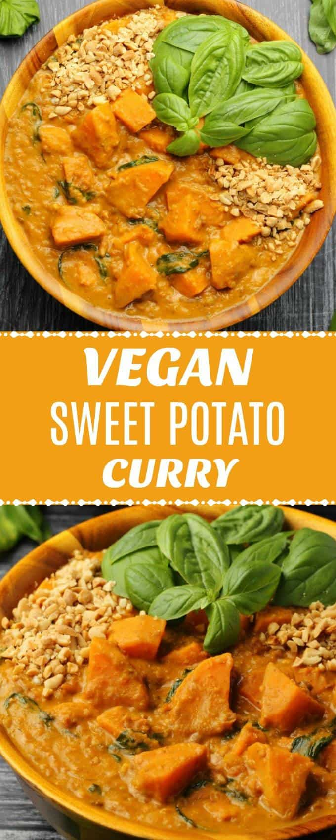 Rich and satisfying vegan sweet potato curry. Hearty, comforting and insanely good, this vegan curry is really simple to make with very impressive results. | lovingitvegan.com