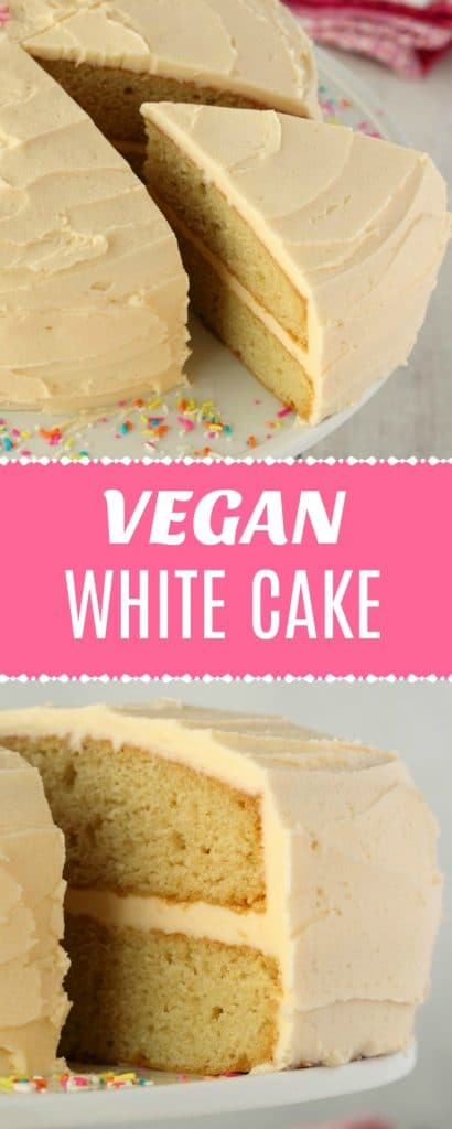 Vegan White Cake