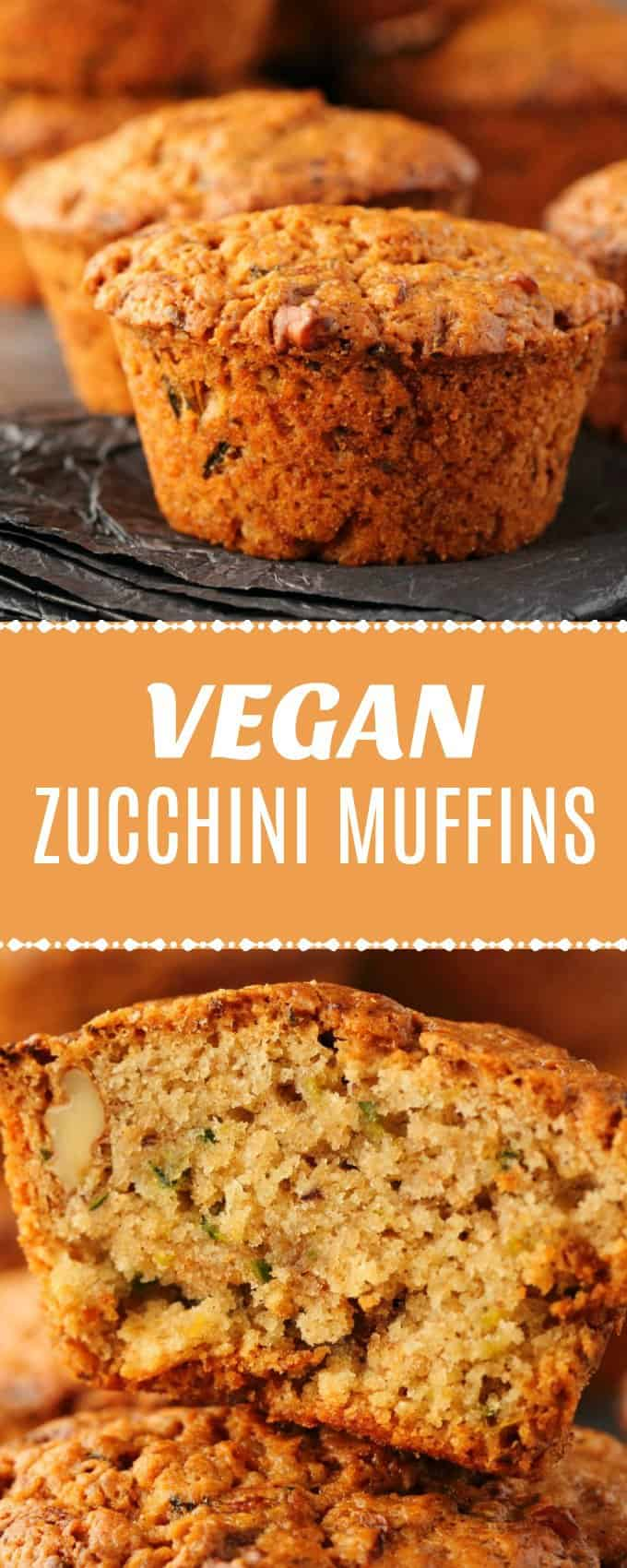 Wholesome and delicious vegan zucchini muffins. These vegan muffins are moist, filling super easy to make, and fabulous either as is or spread with some vegan butter. | lovingitvegan.com
