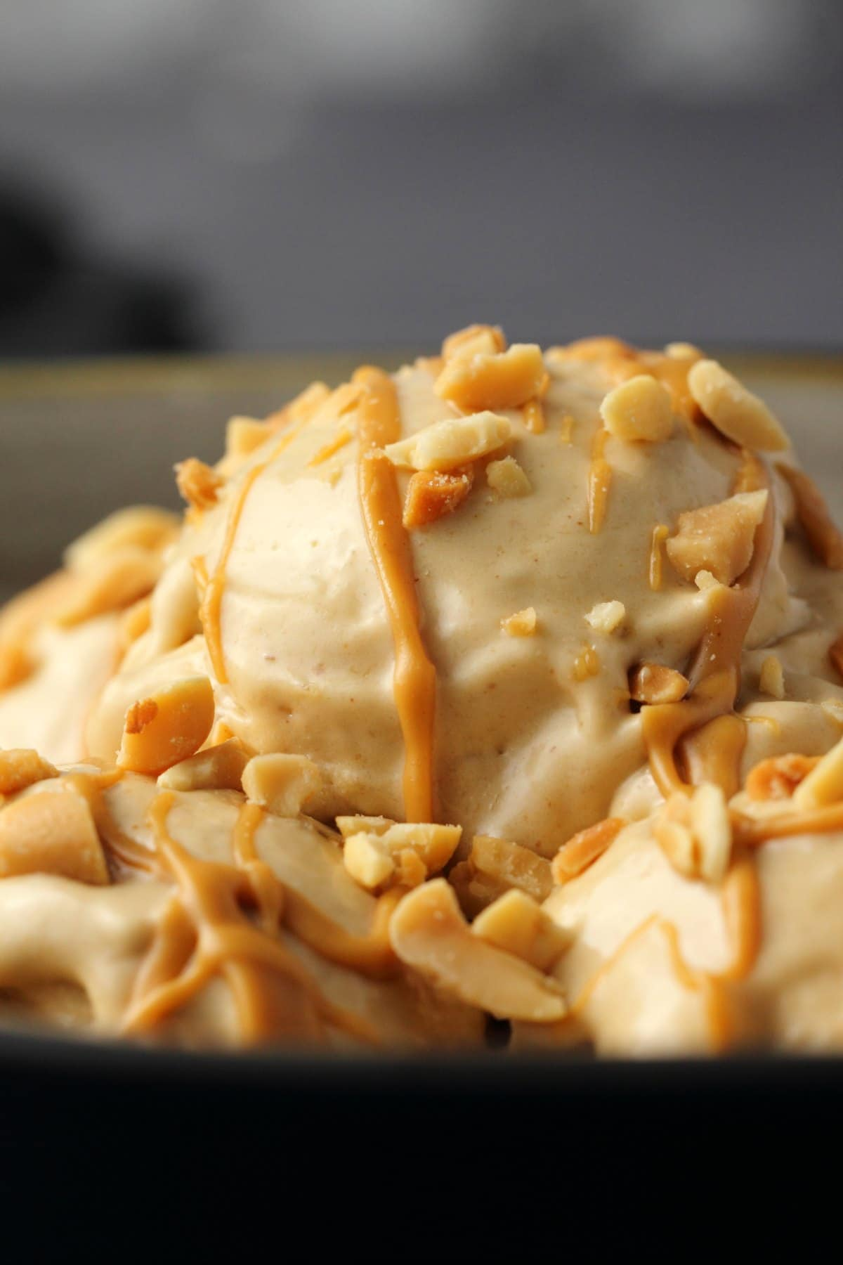 Peanut Butter Banana Ice Cream - 2 Ingredients!